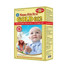MAMA SỮA NON GOLD 012 dinh dưỡng dành cho trẻ nhỏ
