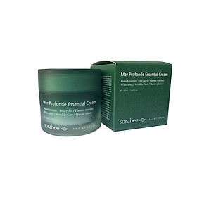 Kem dưỡng ẩm làm sáng da Sorabee Mer Profonde Essential Cream 50g (Chăm sóc da mặt)