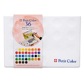 Hộp 36 Màu Nước Petit Color NCW-48H