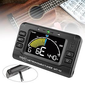 MUSEDO MT-41 Guitar Tuner Universal Electronic Digital 3 in 1 Tuner Metronome Tone Generator for Guitar Bass Violin