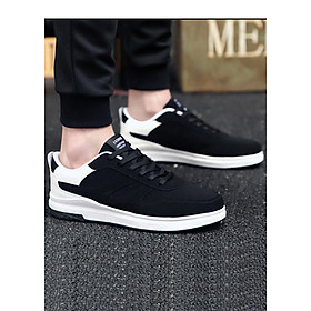 Giày thể thao phối trắng-đen Haint Boutique 141-3