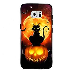 Hình đại diện sản phẩm Ốp lưng Halloween viền TPU cho điện thoại Samsung Galaxy S6 Edge - Mẫu 05
