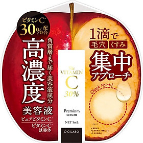 Tinh chất serum CC 30% làm trắng da, mờ thâm nám và tái tạo da C・C・LABO