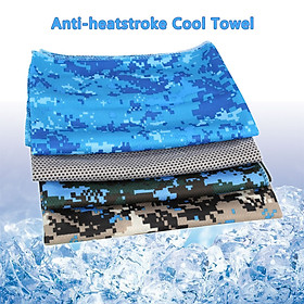 Ice Scarf Sports Towel Practical 4color Polyester Camping Golf-2