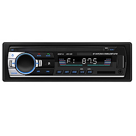 JSD-520 Bluetooth Car Audio Player Car Radio Stereo Autoradio 12V In-dash FM Aux Input Receiver SD Card Slot USB MP3 MMC