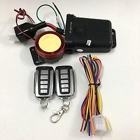 Khóa chống trộm xe máy 5 nút thông minh + Tặng kèm 1 Sạc Điện Thoại Gắn Xe Máy Kèm Ổ Đựng Tẩu