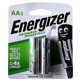Pin Sạc AA 2000mAh NH15 Power Plus RP2 Energizer NH15 RP2 (Mẫu mới)