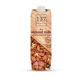 Sữa Hạt Hạnh Nhân Nguyên Chất 137 DEGREES 1000ml
