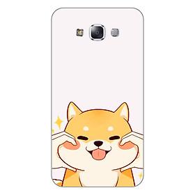Ốp lưng dẻo cho Samsung Galaxy E7 _Lovely