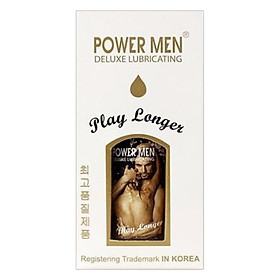 Gel Bôi Trơn Powermen Play Longer 10ml