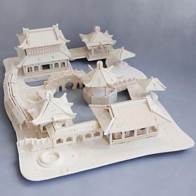 Đồ chơi lắp ráp gỗ 3D Mô hình Nhà Tô Châu