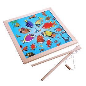 Bộ đồ chơi câu cá đồ chơi gỗ thông minh cho bé