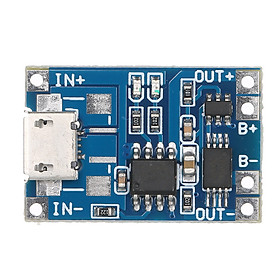 Micro/Type-C/Mini USB 5V 1A TP4056 18650 Lithium-Battery Charger Module Charging Board With Protection Dual Functions 1A