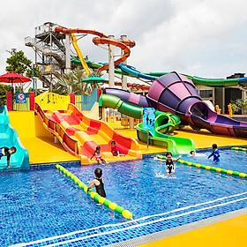 Vé Tham Quan Công Viên Nước Wild Wild Wet Ở Singapore