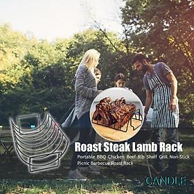 Giá đỡ miếng thịt dùng để nướng BBQ chống dính