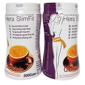COMBO 2 Sữa Hỗ trợ Giảm Cân Hera Slimfit 500gr [CHÍNH HÃNG] - Hỗ trợ giảm cân nhanh và an toàn