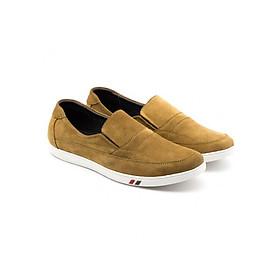 Giày sneaker nam da lộn (da bo that) phong cách Hàn Quốc VO HT_143