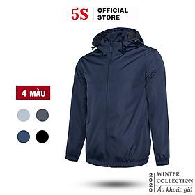 Áo Khoác Nam 5S Cao Cấp 2 Lớp Vải Dù Ấm Áp Cản Gió, Chống Nước Hiêu Quả Nhiều Màu