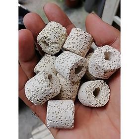 Sứ lọc loại tốt - vật liệu lọc nước hồ cá - phụ kiện thủy sinh cá tép cảnh giá rẻ - 100gram