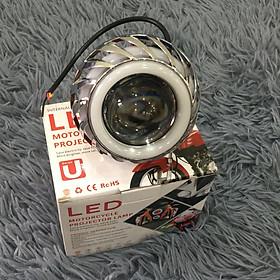 Đèn led U14 độ ô tô, Nhân sáng Projec siêu sáng 18W, Nhôm tản nhiệt giúp bóng Mát và tăng độ bền bóng ( 3 CHẾ ĐỘ: HA - CỐT - PASSING) - A89