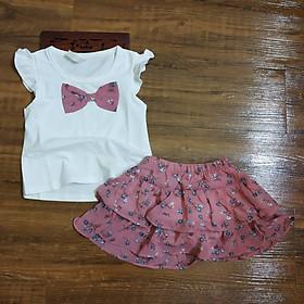 Áo cánh tiên cho bé gái và chân váy voan cho bé gái