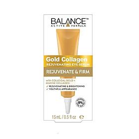 Tinh chất dưỡng mắt  BALANCE GOLD COLLAGEN REJUVENATING EYE SERUM 15ml