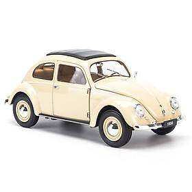 Mô hình xe Volkswagen Classic Beetle 1:18 Welly - 18040W