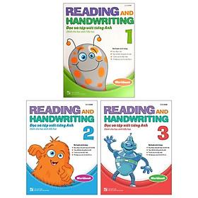 Combo Reading and Handwriting - Đọc Và Tập Viết Tiếng Anh Dành Cho Học Sinh Tiểu Học (Workbook) (Bộ 3 Cuốn)