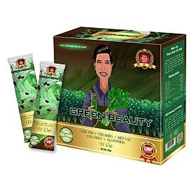 Nước ép GREEN BEAUTY vị Cafe Giảm Cân Đẹp Da Thải Độc Cân Bằng Nội Tiết Tố(30 gói/hộp)
