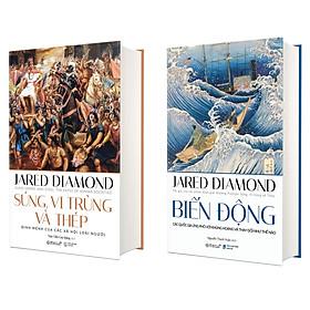 Combo Sách Nghiên Cứu Lịch Sử Nhân Loại Của Jared Diamond : Biến Động + Súng, Vi Trùng Và Thép (Phiên Bản 2020)