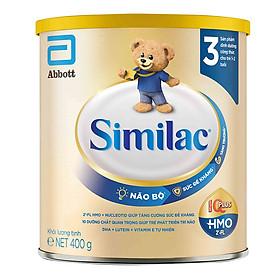 Sữa Bột Cho Bé Similac Eye-Q 3 HMO 400g Gold Label