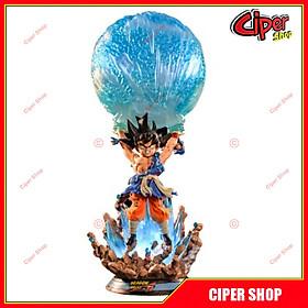 Mô hình Son Goku Spirit Bomb - Figure Goku Dragon Ball GT - Có Led
