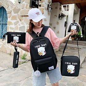 Balo đi học balo mini thời trang Laptop Hàn Quốc