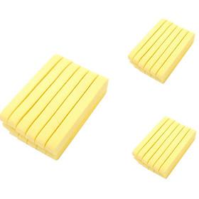 3 Gói Bông Mút Bọt Biển Rửa Mặt (12 Miếng/Gói)
