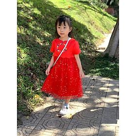 váy B&B đỏ (phom nhỏ)