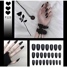 Bộ 24 móng tay giả nail thơi trang như hình F123