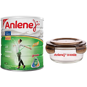 Sữa Bột Anlene Gold Movepro Hương Vanilla (Lon 800g) - Tặng 1 Thố Thủy Tinh