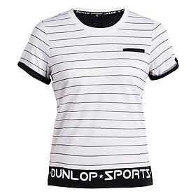 Áo Thể Thao Nữ Dunlop DASLS8086-2-WT