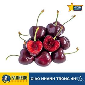 [Chỉ Giao HCM] - Cherry Đỏ Mỹ Size 9 (Hộp 500G) - Trái to, cuống tươi xanh, màu đỏ sẫm, vị ngọt thanh mọng nước xen chút chua nhẹ.