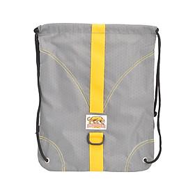 Túi Dây Rút Diamond Backpack Stronger Bags S9-03 (43 x 34 cm) - Xám Sọc Vàng