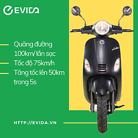 Xe máy điện EVIDA eSWISS#68