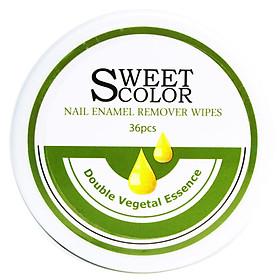 Miếng Tẩy Sơn Móng Tay Sweet Color (36 Miếng)