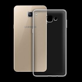 Ốp lưng cho Samsung Galaxy A9/ A9 Pro - 01034 - Ốp dẻo trong - Hàng Chính Hãng