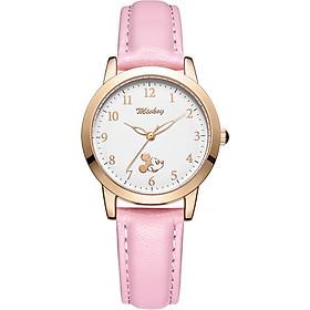 Disney Children's Watch Girl Student Quartz Watch Girl Korean Fashion Girl Watch Waterproof Luminous Watch MK-11286P