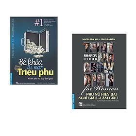 Combo 2 cuốn sách: Bẻ Khóa Bí Mật Triệu Phú + Phụ Nữ Hiện Đại Nghĩ Giàu Và Làm Giàu