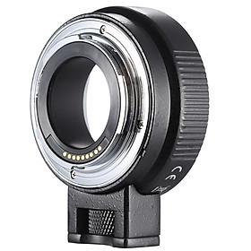 Đế Chuyển Đổi Ống Kính Điều Chỉnh Khẩu Độ Tự Động Lấy Nét Canon EF/EF-S Andoer EF-EOSM Cho Máy Ảnh Canon EOS M EF-M M2 M3 M10