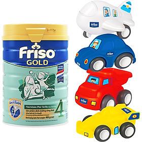 Sữa Bột Friso Gold 4 Cho Trẻ Từ 2-4 Tuổi 900g + Tặng Bộ 4 Xe Đồ Chơi