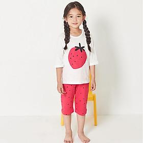 Bộ đồ lửng xuân hè cho bé gái Unifriend Hàn Quốc UNI0728
