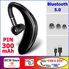 Tai Nghe Bluetooth Không Dây S109, Pin Trâu, Hỗ Trợ Kết Nối 2 Điện Thoại - Chơi Nhạc, Nghe Gọi Lên Đến 20h