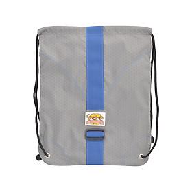 Túi Dây Rút Diamond Backpack Stronger Bags S9-02 (43 x 34 cm) - Xám Sọc Xanh Đen